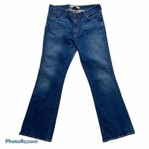 🔴 Gap Original Flare Stretch Size 14 Reg
